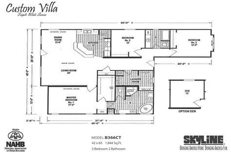 mobile home floor plans manufacturers and models skyline homes of san jacinto