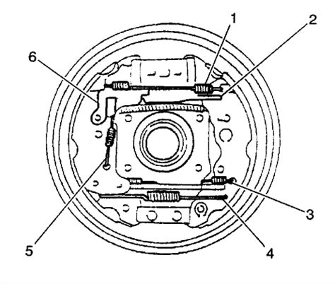 2002 chevy tracker rear brake diagram need diagram to replace chevy 2002 tracker rear shoes and