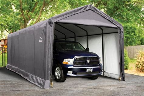 Shed Logic by Shelterlogic 12x30x11 Sheltertube Snow Load Shelter