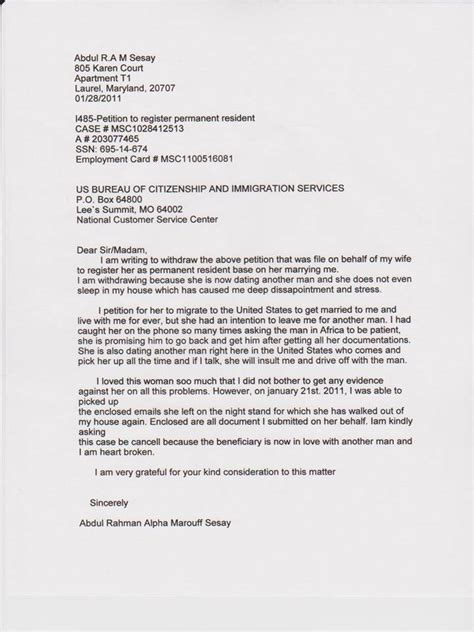 Recommendation Letter Visa Recommendation Letter For Permanent Residency Application