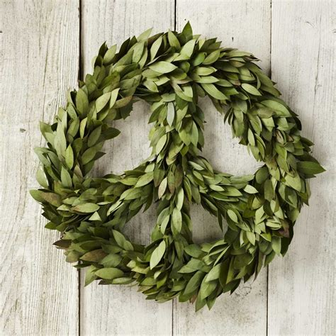 peace wreath outdoor christmas decor pinterest
