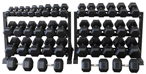 Dumbell Set hex dumbbell set 2 5kg 50kg 20 pairs