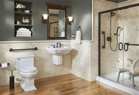 universal bathroom design better living design in the bath