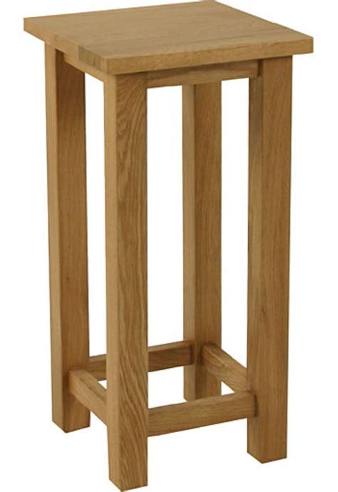 solid oak l table