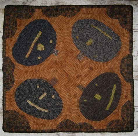 primitive hooked rugs primitive hooked rugs for sale images