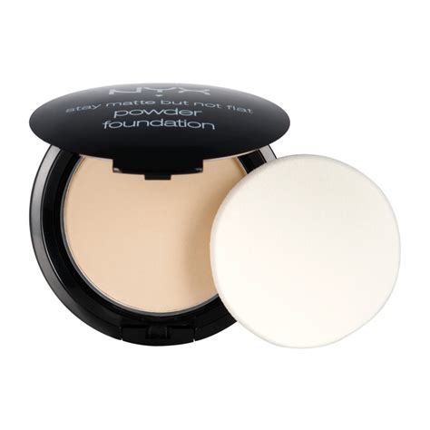 Nyx Stay Matte Foundation nyx professional makeup stay matte but not flat powder foundation 7 5g feelunique