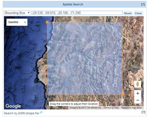 imagenes satelitales aster descargar im 225 genes satelitales aster desde reverb