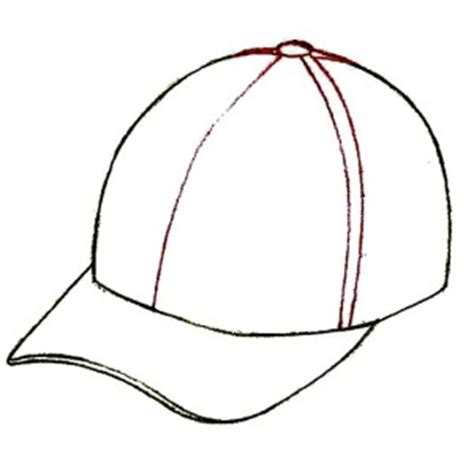 baseball caps colouring pages page 2