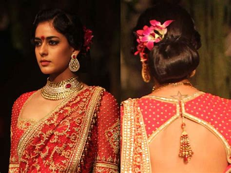 indian hairstyles with lehenga try these indian hairstyles with lehenga boldsky com