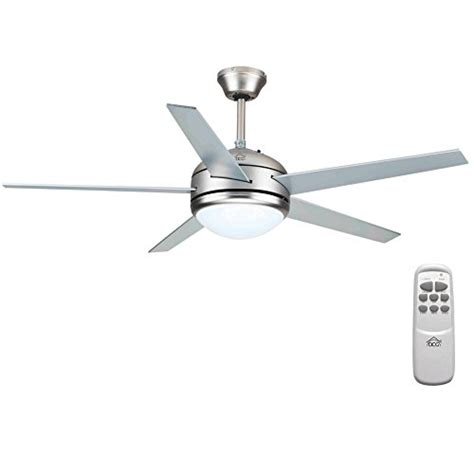 5 Speed Ceiling Fan by Ceiling Fan With 5 Blades Wood 3 Speed Silent With Light And Remote L 60 W Dcg