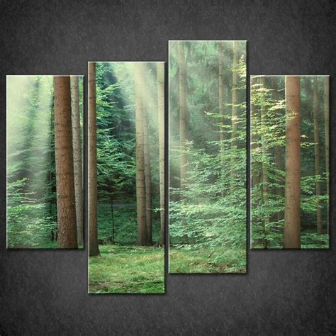 canvas prints forest green split canvas wall art pictures prints larger
