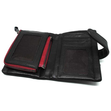 Dompet Notebook contact dompet pria genuine leather black