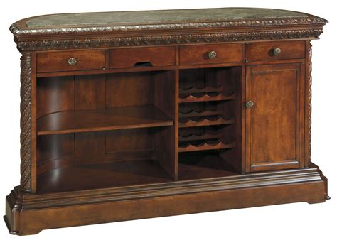 shore house furniture north shore marble top bar ashley furniture d553 65