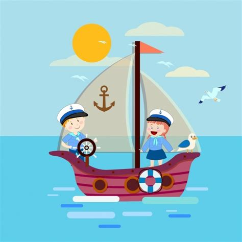 elias boat cartoon vector background for free download about 40 090 vector