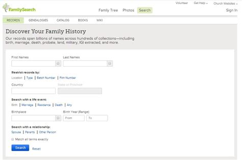 Completely Free Records Search How To Find Your Family History For Free Getting Started Genealogy Gems