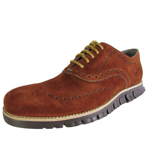casual oxford shoe cole haan zerogrand wingtip casual oxford shoe ebay