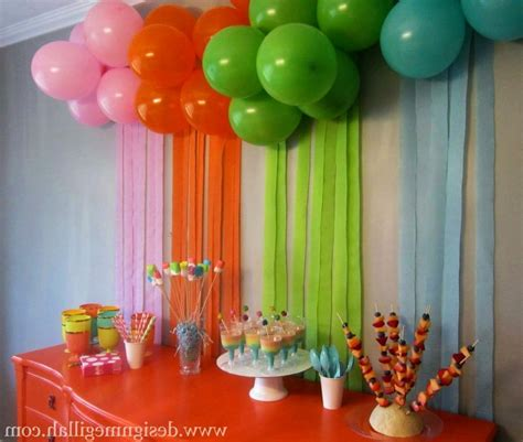 10 simple birthday decoration ideas at home hairstyles easy hawaiian theme party decorations newhairstylesformen2014 com