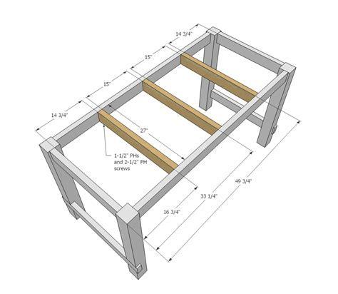 Kitchen Island Plans Free – Kitchen Island Woodworking Plans Free ...