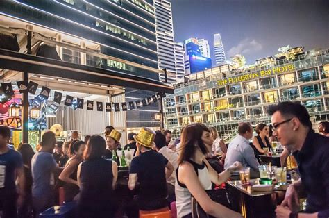 bar top dancing singapore 10 rooftop bars with gorgeous views and beer promos in