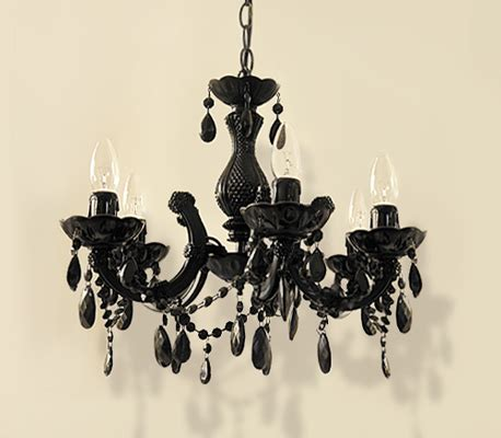 Spray Paint Chandelier Black Chandelier