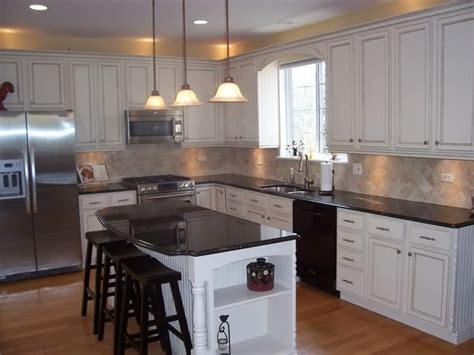 Painted White Oak Cabinets painted white oak kitchen cabinets info home and furniture decoration design idea