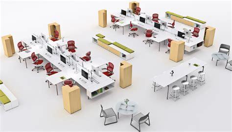 layout ruang kerja kantor tata ruang kantor terbuka decodeko