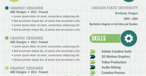 the innovative resume template resume jobsearch creativeresume resumedesign www