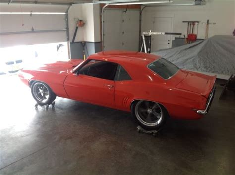 1969 camaro roller for sale 1969 camaro pro touring ls ready roller