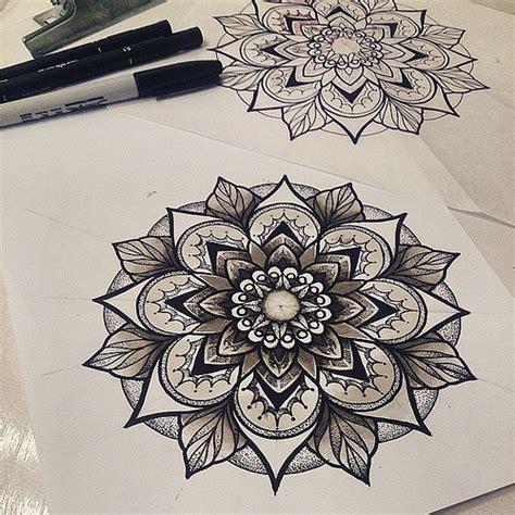 trabalho do dia desenho pro charles mandala tattoo do
