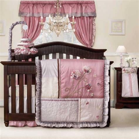 fleur 9 baby crib bedding set by kidsline baby