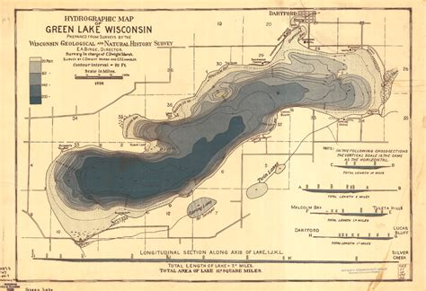 wisconsin lakes map wisconsin geological history survey