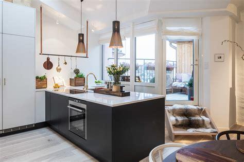 cocina nordica crea una cocina n 243 rdica con pen 237 nsula interiores chic