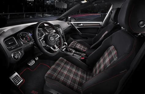 white volkswagen gti interior 2017 volkswagen golf gti release date and new features