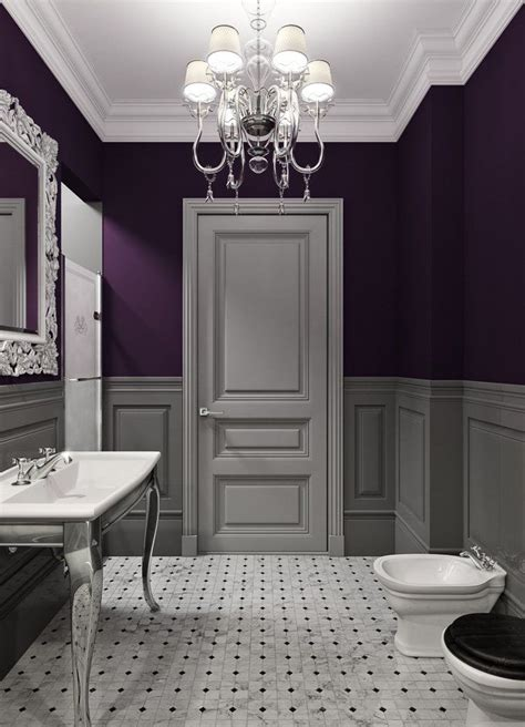 dark purple bathrooms 340 best for the home bath images on pinterest bathroom