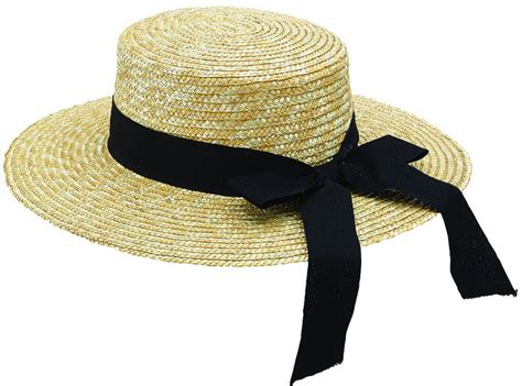 classic s straw boater