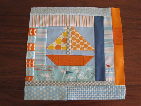 sailboat quilt ideas blue orange sailboat quilt for c s room sewing