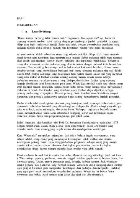 makalah membuat usaha baru makalah usaha cafe lesehan lucy hudson