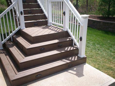 st louis deck design step    deck railing