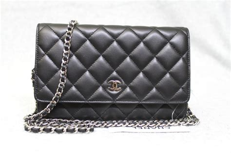 Best Seller In Store Chanel Woc Lambskin chanel black quilted lambskin classic woc wallet on a