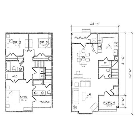 very small duplex house plans