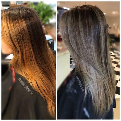 hair color correction best 25 color correction hair ideas on