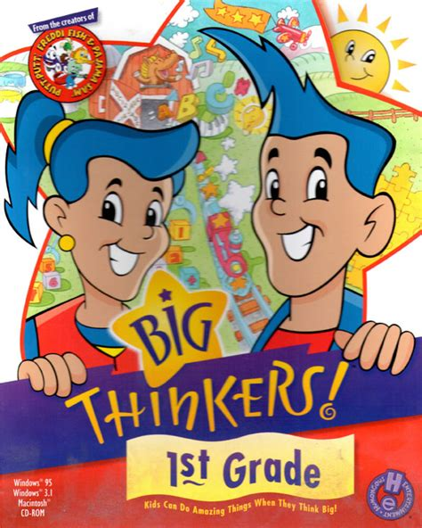 thinkers games big thinkers 1st grade humongous entertainment games wiki fandom powered by wikia