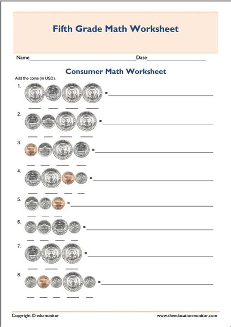worksheets consumer math consumer math worksheet consumer math problemshorizons 2