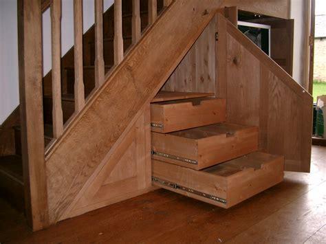 oak stair cupboard drawers cupboard the