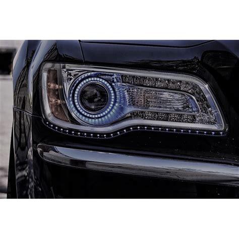 Halo Headlights For Chrysler 300 by Chrysler 300 White Led Halo Headlight Kit 2011 2016