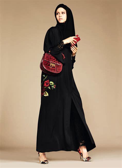 Busana Muslim Gamis Wanita Gma 8113 dolce gabbana and abaya collection tom lorenzo
