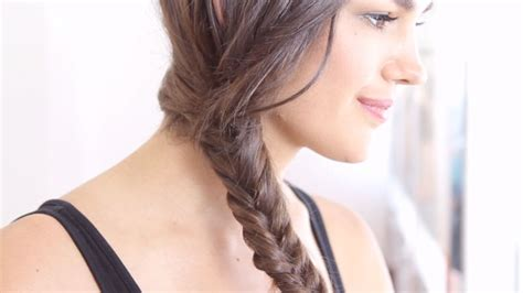 hairstyles bane ka tariqa watch hey hair genius how to do a fishtail braid hey