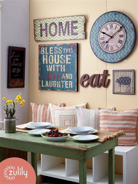 ideas for kitchen wall 25 best ideas about wall clock decor on large