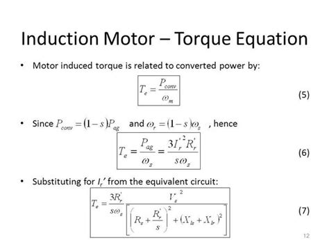 three phase induction motor torque formula how to the rotational speed of a single phase motor quora