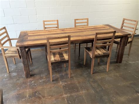 Reclaimed Wood Extendable Farmhouse Dining Table Smooth Reclaimed Wood Extendable Dining Table